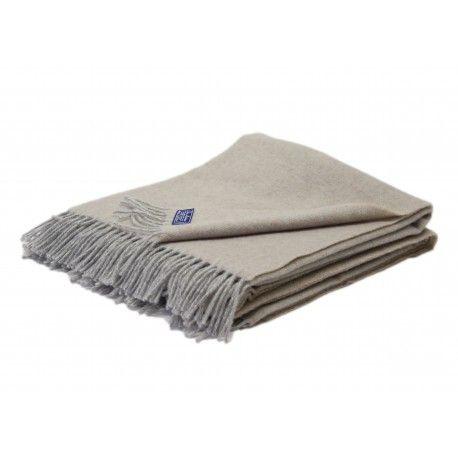 Melange wool blanket in different colours