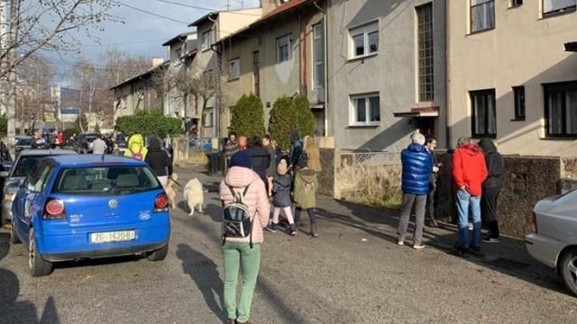 An Earthquake Of 6 3 Magnitude Hit The Croatian City Of Petrinja While Many Buildings Were Demolished In The City It Was Learned Th Earthquake Croatia Zagreb