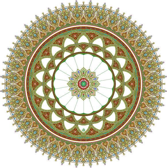 34-Floral Pattern (Khatai)