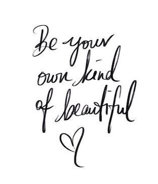 Every one is beautiful! #Quotes #Inspire