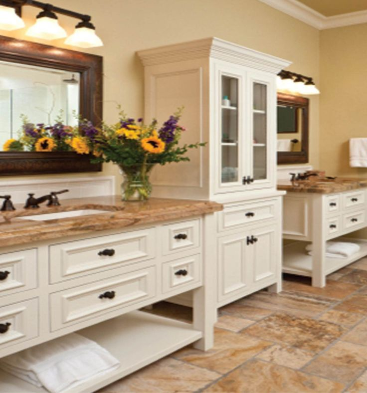 Off White Kitchen Cabinets With Glaze: 107 Best Images About Master Bathroom On Pinterest