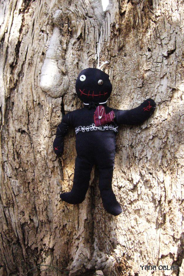 Scary gifts at DaWanda - Dolls – Voodoo lovely hanged doll – a unique product by YanaOblap via en.dawanda.com