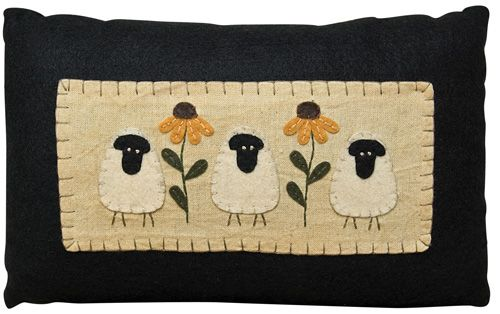 three sheep pillow