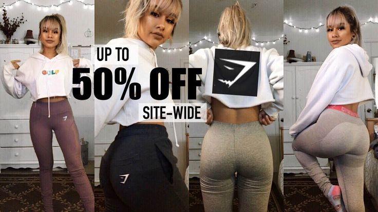HUGE GYMSHARK SALE!! TRY ON HAUL *my most fave items*