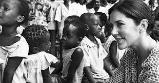 Image result for crown princess mary danish refugee council