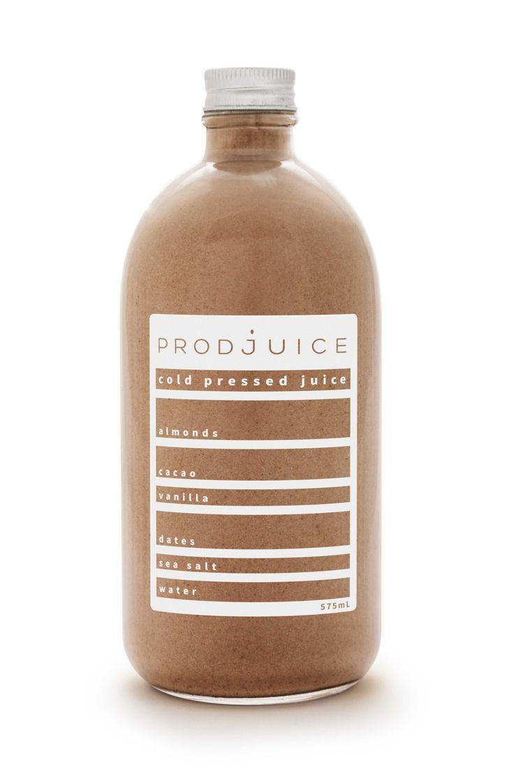 Cacao Almond Milk   Prodjuice  www.prodjuice.com.au