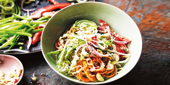 I Quit Sugar - Raw Pad Thai from The Raw Food Kitchen