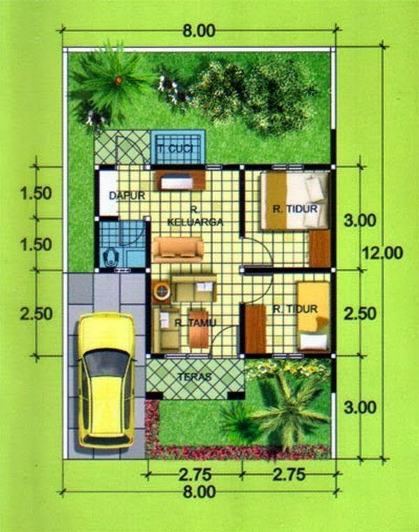 297d86ac2bea0d27d2cd32be8d8efe04 denah rumah rumah minimalis