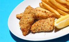 Healthy Fish Fingers - Kids food