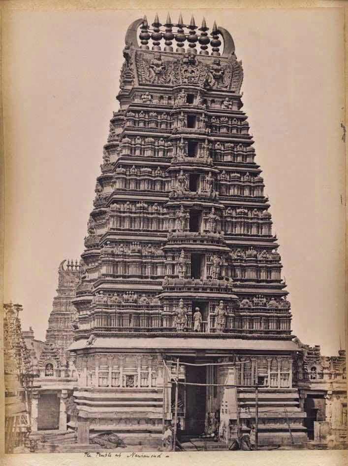 Srikanteshwara Temple, Nanjangud - Karnataka 1890's