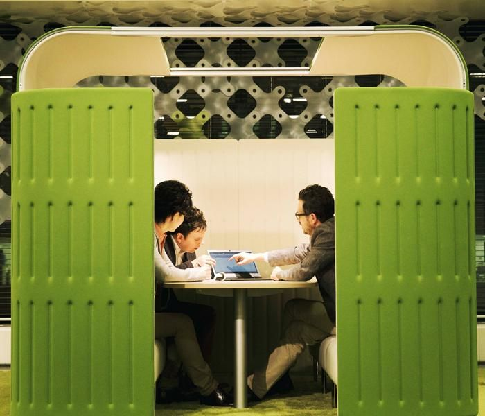 Muffle | UCI Acoustic Modular Workplace Furniture by Okamura in Japan. uci.com.au