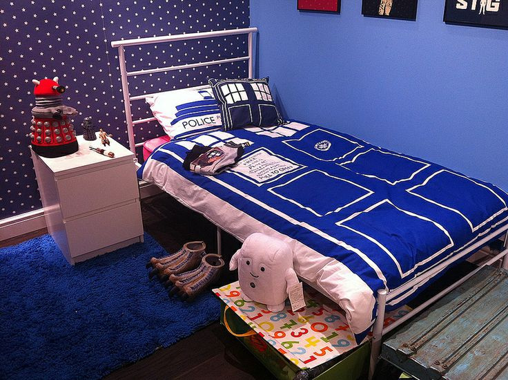 Perfect Doctor Who Bedroom