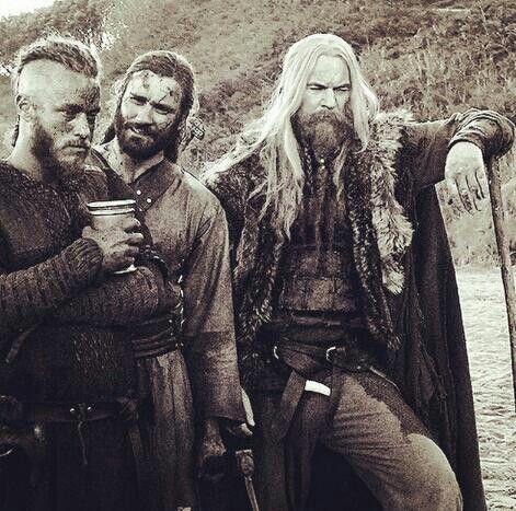 Ragnar, Rollo and Leifs Father Erik