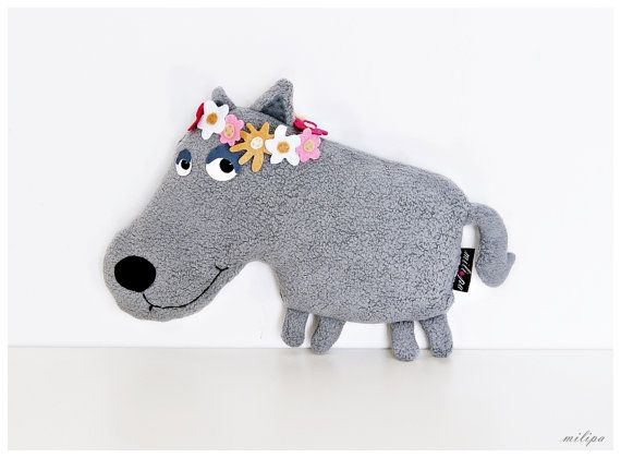 Hey, I found this really awesome Etsy listing at https://www.etsy.com/listing/246994158/penelope-stuffed-wolf-stuffed-animal
