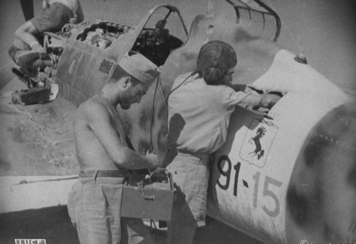 Aer. Macchi C.202 Folgore in Africa Settentrionale