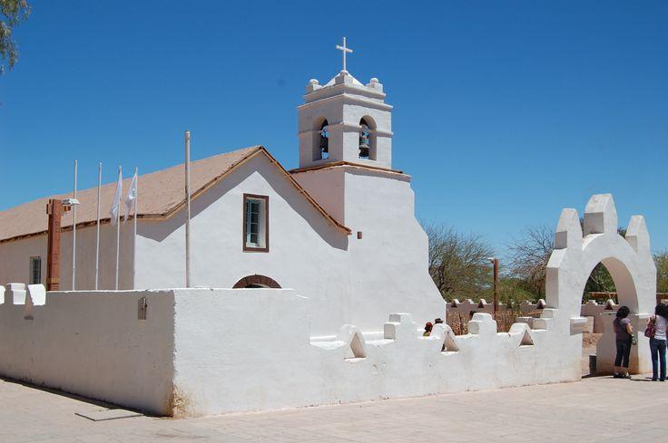 Church in San Pedro de Atacama, Chile Eureka Travel #SouthAmerica