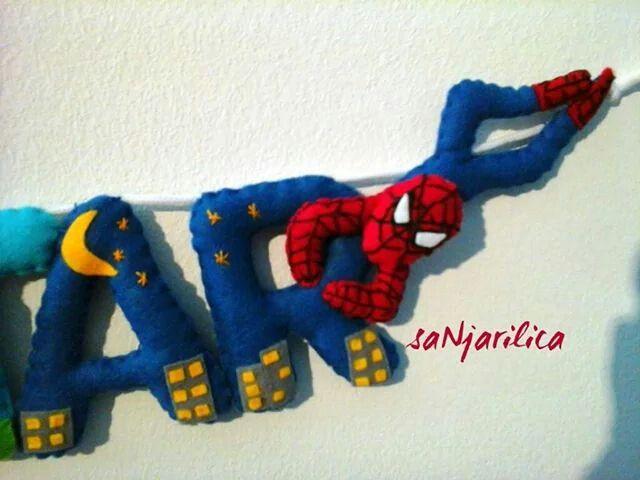 Felt Spiderman