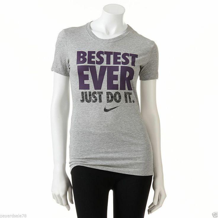 ladies nike tee shirts