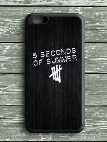 Black Wood Five Seconds Of Summer iPhone 6S Plus Case