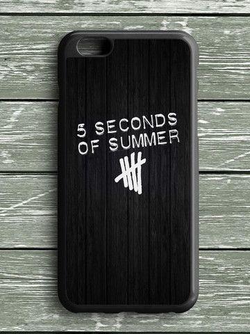Black Wood Five Seconds Of Summer iPhone 6S Plus Case