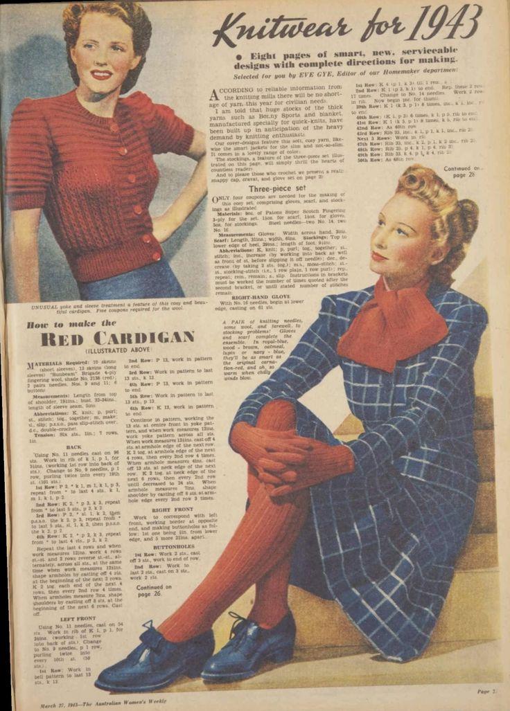 7 + Frisuren kurze Vintage 40er Jahre