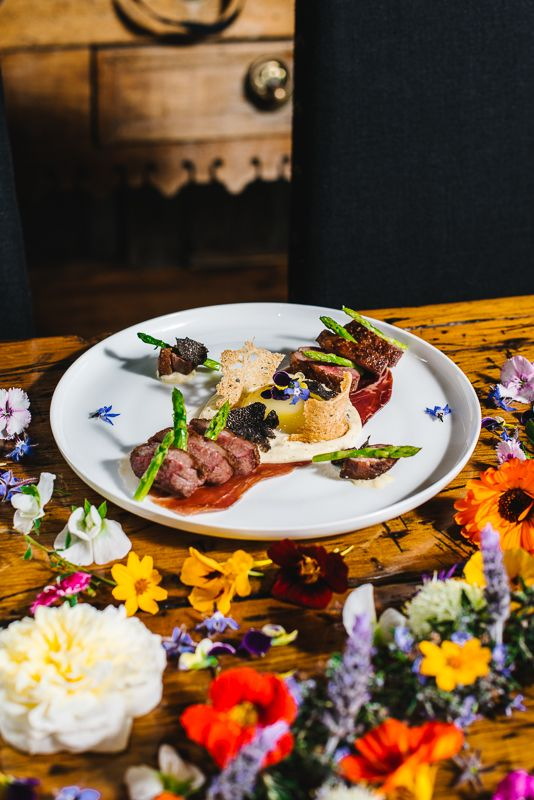 Dining at #circa1876 #peppersconvent #huntervalley #farmtofork #farming #organic theconventhuntervalley.com.au