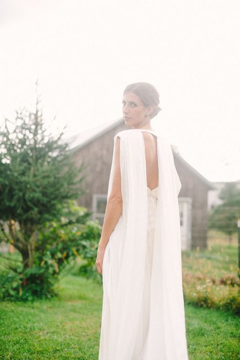 10 Ways to Finish Your Look With a Bridal Cape                                                                                                                                                                                 More