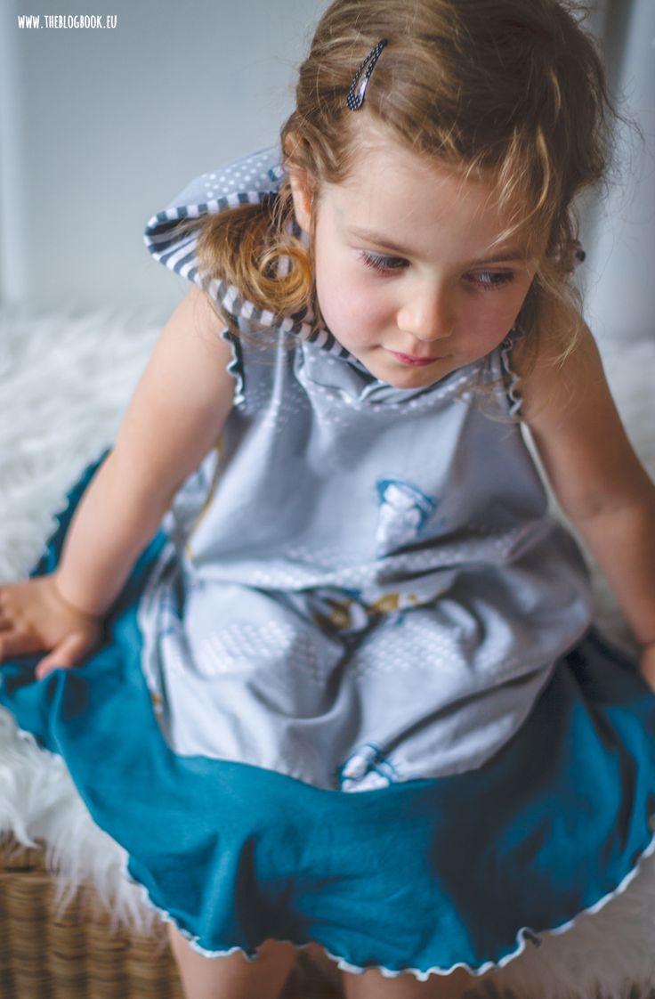 theblogbook | sewing | dress, lillestoff, susalabim, klimperklein