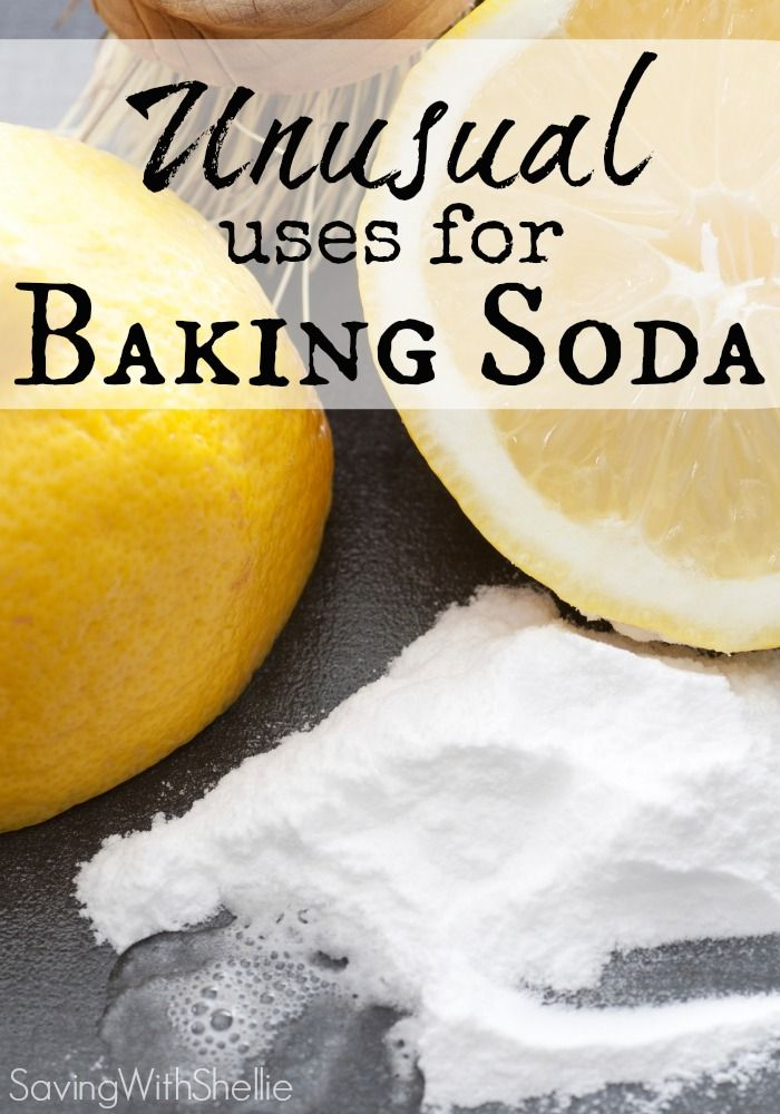 This list has some of my favorite unusual uses for Baking Soda like face scrub, anti-itch cream and more! Much cheaper and more natural than store bought products.