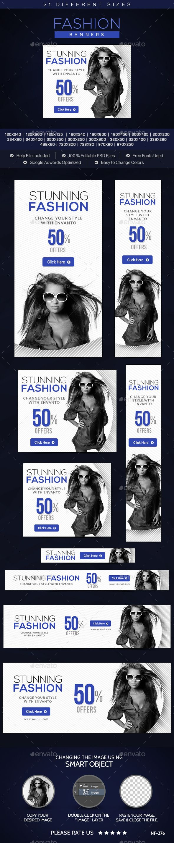 Fashion Banners - Banners & Ads Web Template PSD. Download here: http://graphicriver.net/item/fashion-banners/10706528?s_rank=1776&ref=yinkira