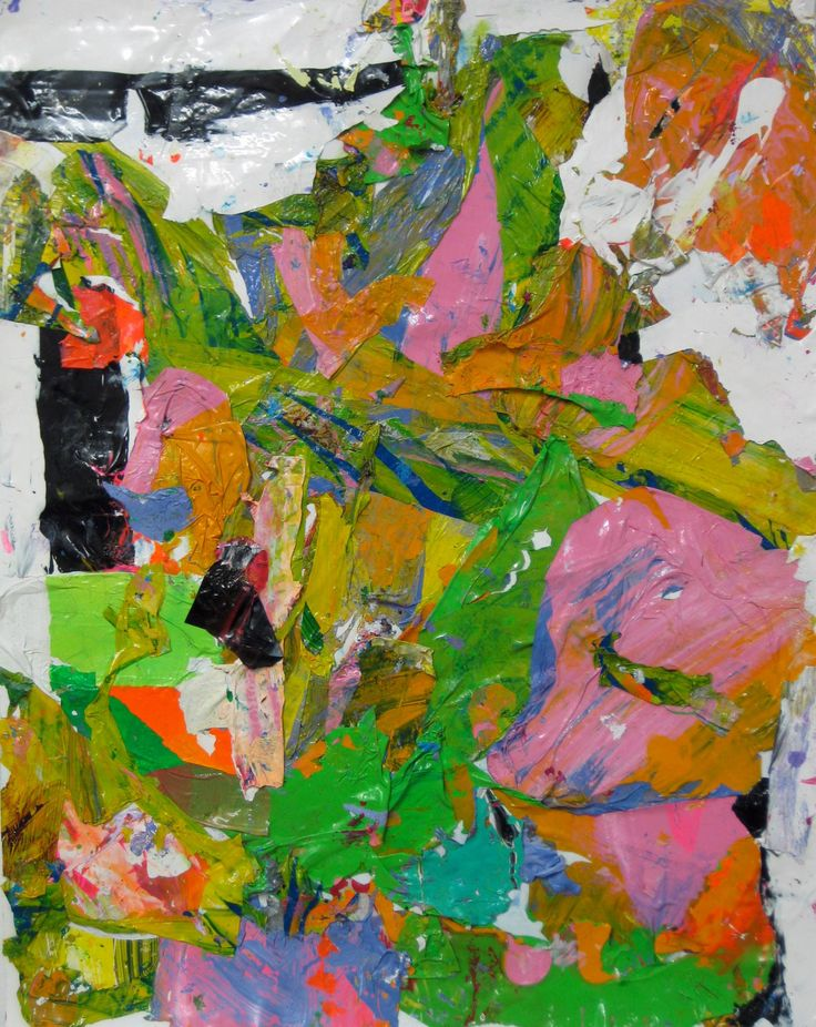"Saatchi Art Artist: robert tavani; Paint 2013 Collage ""Ideal Idea Ide Id"""