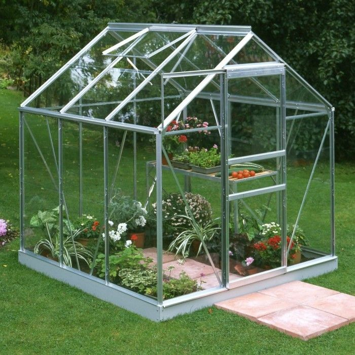 14 best gewächshaus images on Pinterest | Glass house, Greenhouses ...