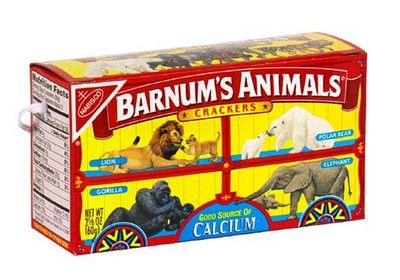 Animal Crackers!  Loved those!