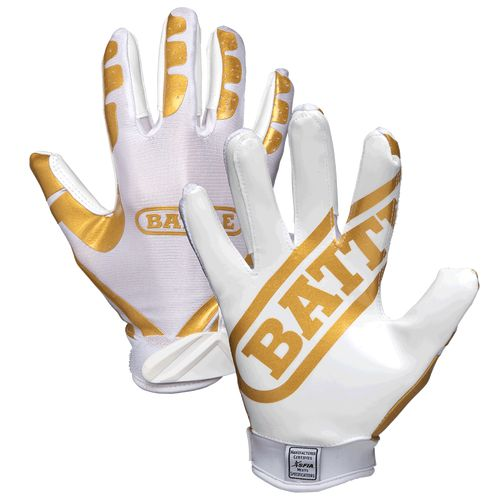 Battle Ultra-Stick Adult Football Receiver Gloves STICKS - GRIPS - PROTECTS - LIMITED EDITION Battle Ultra-Stick adult football gloves are made for football players who play hard and keep reaching. Th