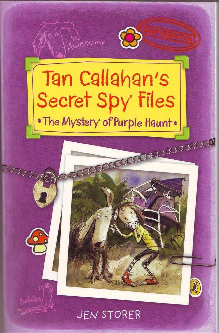 Tan Callahan Secret Spy Files cover