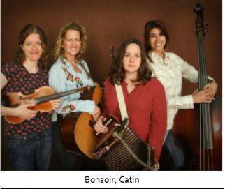 BonSoir, Catin is an all-female, one male Cajun band, made up four female vocalists, Kristi Guillory (accordionist) Christine Balfa (guitarist) Yvette Landry (bassist) Anya Burgess (fiddler), and drummer, Jude Veillon.  They will be performing on July 19th in Prather Coliseum.