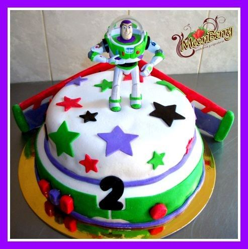 Buzz Lightyear Cake Ideas | Download Pastel buzz lightyear pastel de buzz lightyear