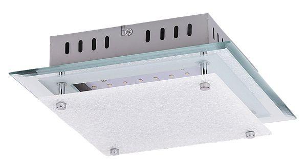 ELIZA Rábalux - LED stropnica - kov/sklo - 260mm