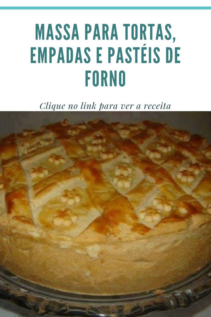 Photo of Massa para tortas, empadas e pastéis de forno
