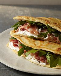 Piadina with Ricotta, Prosciutto and Arugula Recipe on Food & Wine