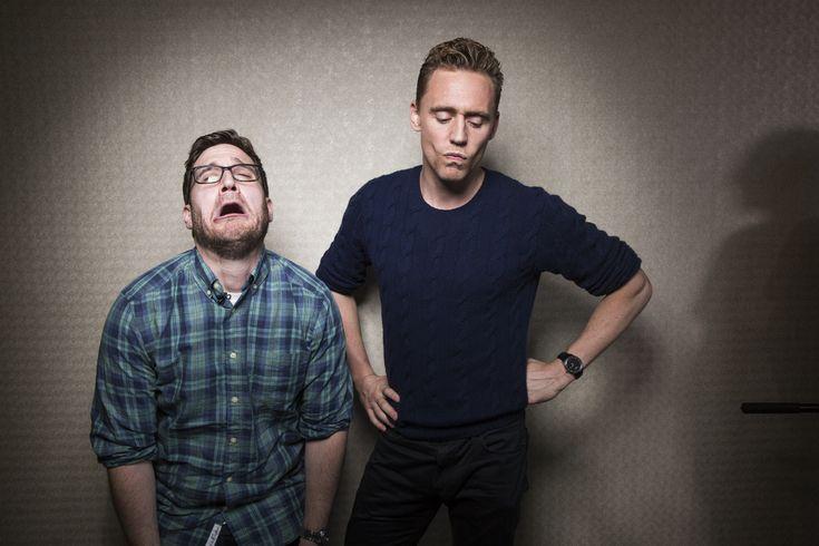 Tom Hiddleston, Elizabeth Olsen, episode #101 of Happy Sad Confused on Earwolf