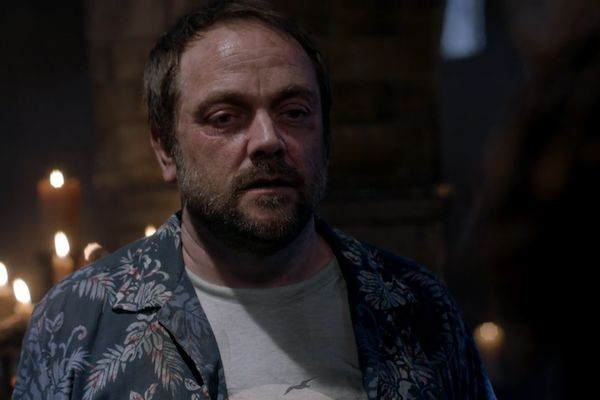 'Supernatural': 9 Key Moments in Casifer and Crowley's Conflict in 'Beyond the Mat'