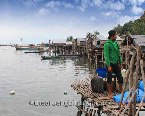 Bugis - fishing village