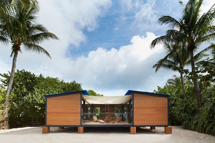 Louis Vuitton Brings Charlotte Perriand's Unrealised 1934 Beach House To Life | Yatzer