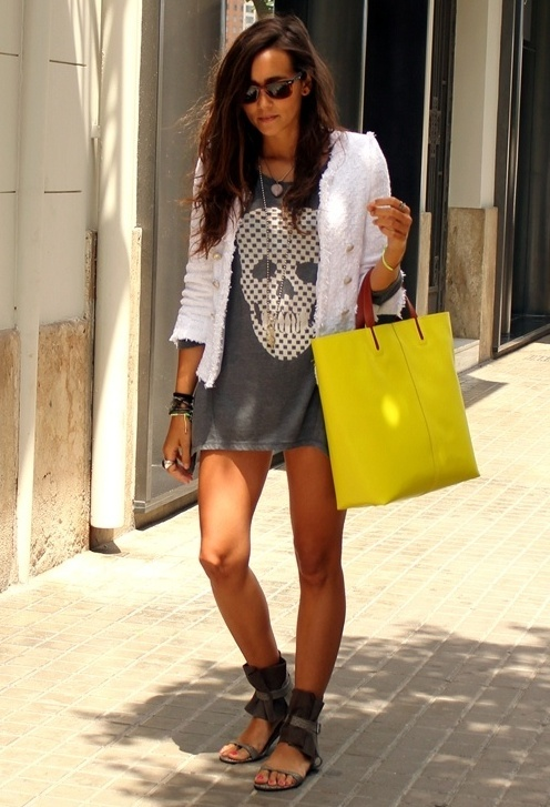 .: Skull Dress, Skulls, Fashion, Style, Bag, Dresses, Outfit