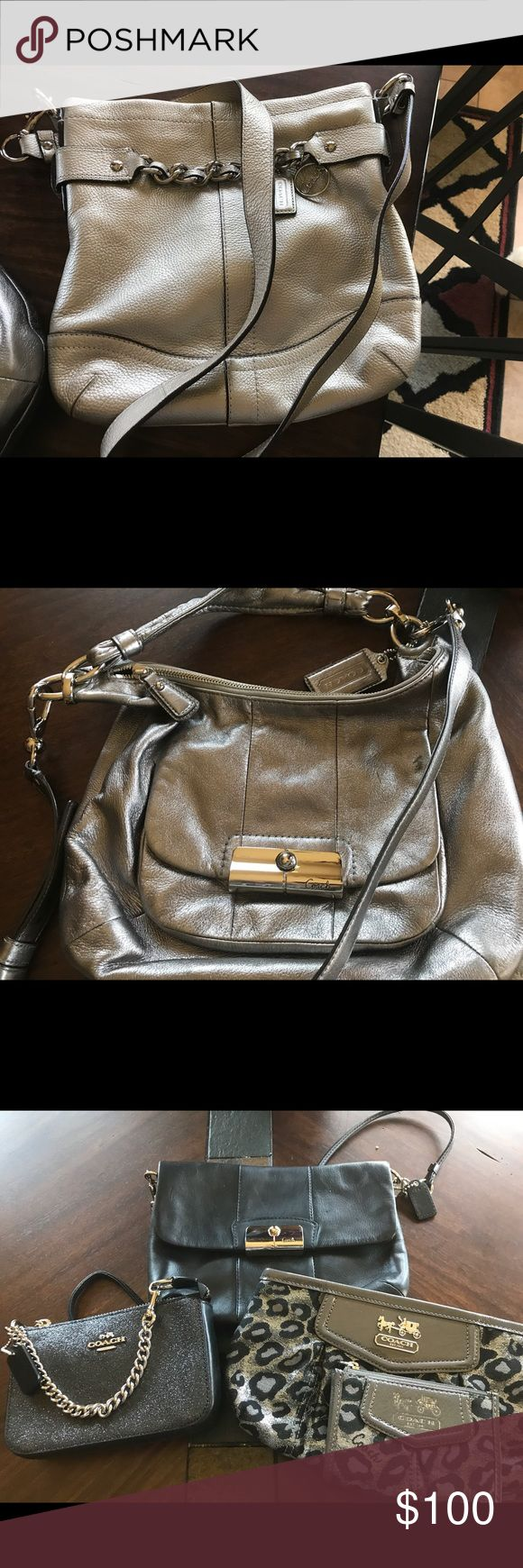 Selling almost new Coach Handbags and wallets Price is from $25 to $100 Coach Bags Crossbody Bags