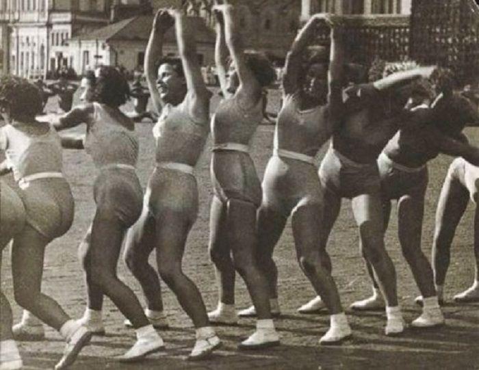 «Волна», гимнастика 1936 года.