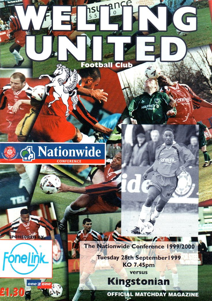 Welling United Football Club in Kent, Kent