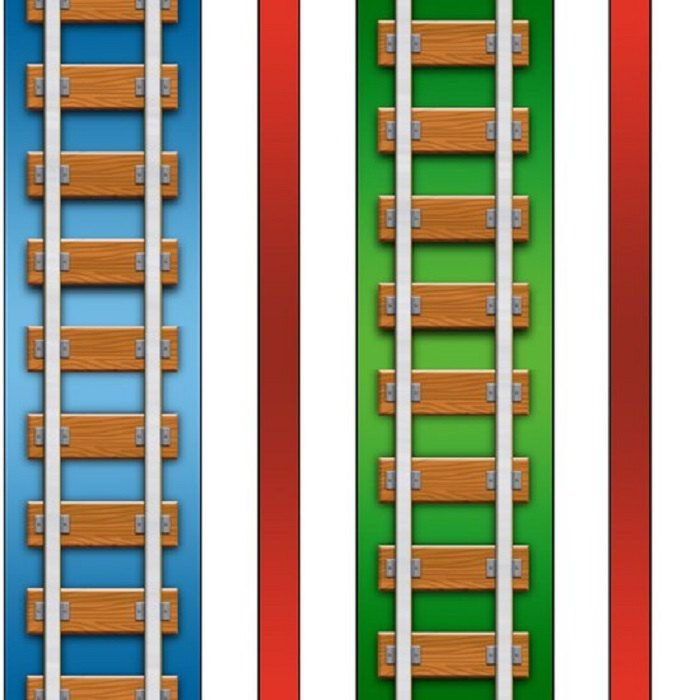 17 best images about quilt thomas on pinterest thomas for Fabric with trains pattern