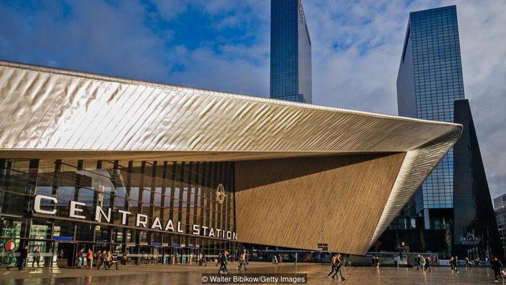 Rotterdam Station is one of the gems of an architecturally jubilant city (Credit: Credit: Walter Bibikow/Getty Images)